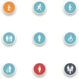 Set of medical icons. Royalty Free Stock Photography