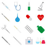 Set of medical icons,  illustration. Collection of medical icons,  illustration Royalty Free Stock Images