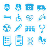 Set of medical items Royalty Free Stock Photography