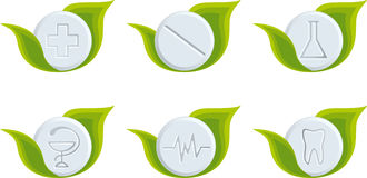 Set of medical symbols Royalty Free Stock Photography
