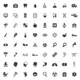 Set of medical vector icons Royalty Free Stock Image