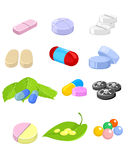 Set of medication Stock Photography