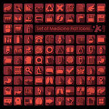 Set of medicine icons Royalty Free Stock Photography