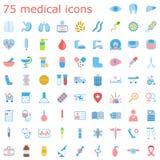 Set medizinische Ikonen Lizenzfreies Stockbild