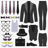 Set of men's accessories Royalty Free Stock Photo