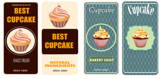 Set of menu templates for cafe Stock Images