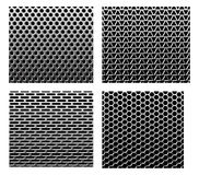 Set metal grids. Royalty Free Stock Photography