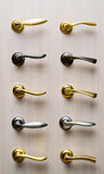 Set metal handles Royalty Free Stock Photography