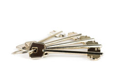 Set of metal keys Stock Photos