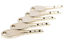 Set of metal keys Stock Images