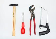 Set metalwork narzędzia Zdjęcie Royalty Free