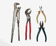 Set metalwork narzędzia Fotografia Royalty Free