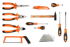 Set of metalworker's tools Royalty Free Stock Image