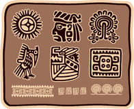 Set of Mexican Design Elements Royalty Free Stock Image