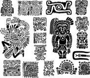 Set mexican symbols Royalty Free Stock Photography