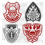 Set Of Military - Army Patches and Badges 4 Stock Photography