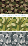 Set of military camouflage texture. Army pattern of dumplings. M Royalty Free Stock Photography
