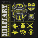 Special unit military patches stock vector image 47585247 for Military patch template