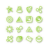 Set - miscellaneous icons Stock Photography