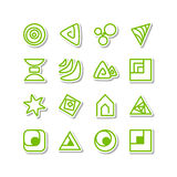 Set - miscellaneous icons Stock Photo
