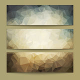 A set of modern  banners Royalty Free Stock Photography