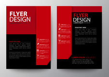 Set of modern brochure flyer royalty free illustration
