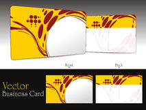 Set of modern business cards Royalty Free Stock Image