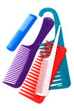 Set of modern comb Royalty Free Stock Photos