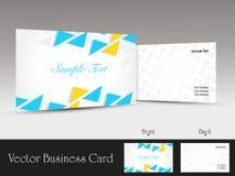 set of modern design vector business card template Stock Photography