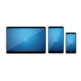 Set of Modern Digital devices. Vector Stock Image