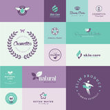 Set of modern flat design beauty and healthcare icons Stock Photography