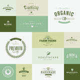 Set of modern flat design nature icons Royalty Free Stock Photography