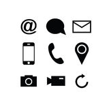 Set of modern gadget icons Royalty Free Stock Photography