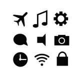 Set of modern gadget icons Royalty Free Stock Photos