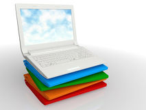 Set modern notebook Royalty Free Stock Image