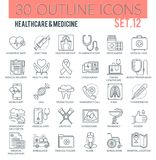Healthcare & medicine Icons Stock Images
