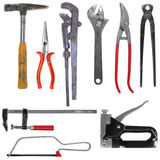Set of modern tools Stock Image