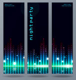 Set of modern vector banners. Royalty Free Stock Photography
