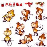 Set monkey Stock Photography