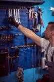 Set of monkey wrenches Stock Photography