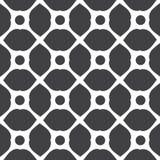 Set of monochrome geometric seamless universal patterns, tiling. Stock Photos