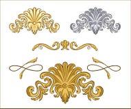 Set monograms Royalty Free Stock Image