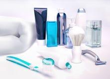 Set for morning hygiene. Stock Images