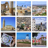 Set of Morocco Architecture Stock Images