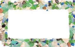 Set morze łuska na starym drewnianym tle Zdjęcie Royalty Free