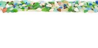 Set morze łuska na starym drewnianym tle Zdjęcie Stock
