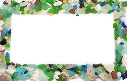 Set morze łuska na starym drewnianym tle Zdjęcia Stock