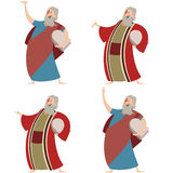 Set of Moses Stock Photography