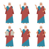 Set of Moses2 Royalty Free Stock Images