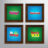 Set Of Motivational Quotes. Royalty Free Stock Image